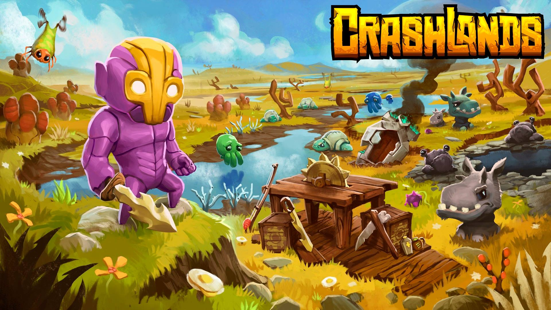 Crashlands, a game by Butterscotch Shenanigans