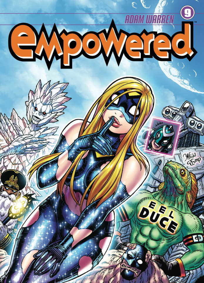 Empowered Volume 9 by Adam Warren
