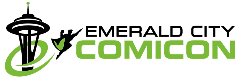 Emerald City Comicon Horizontal Logo