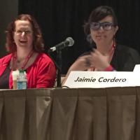 Rebecca Hicks and Jaimie Cordero
