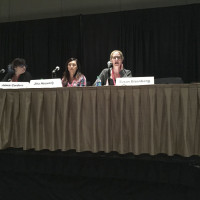The How to be a Nerd for a Living panel at GeekGirlCon 2014