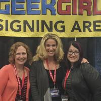 Amanda Nuckolls, Susan Eisenberg and Wendy Buske