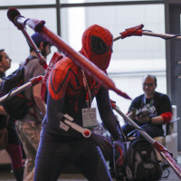 Superior Spider-Man cosplayer at Emerald City.