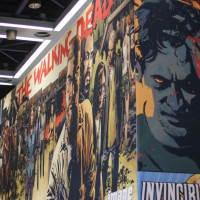 Image Comics had a significant display on the 4th floor exhibition floor.