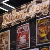 Steam Crow exhibits at Emerald City Comicon.