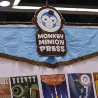 Monkey Minion Press at Emerald City Comicon.