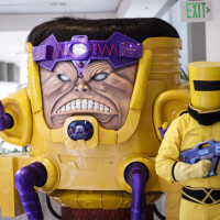 MODOK and a member of A.I.M. take up their station on the 3rd floor.