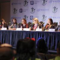 L2R: Jaimie Cordero, Isaac Marion, Amanda Nuckolls, Karen Hallion, Clare Hummel, and Susan Eisenberg.