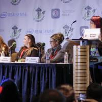 L2R: Karen Hallion, Clare Hummel, Susan Eisenberg, and Wendy Buske.