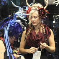 Venders and exhibitors at Emerald City Comicon.