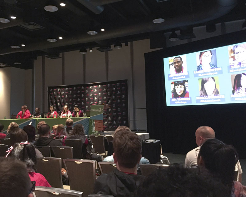 Emerald City Comicon 2017 - How to be a Nerd for a Living panel