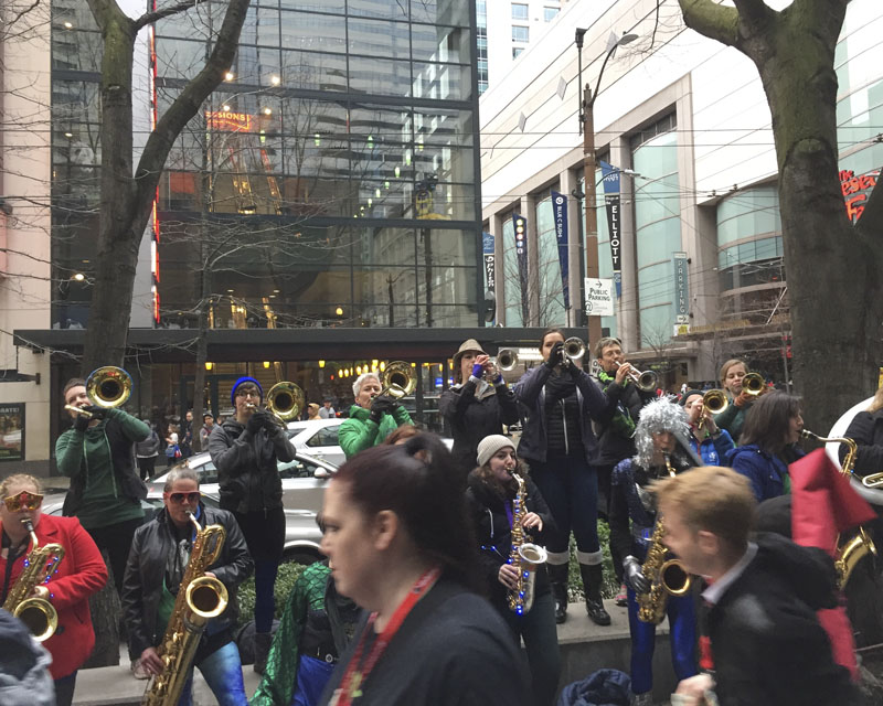 Emerald City Comicon 2017 - Outside the con