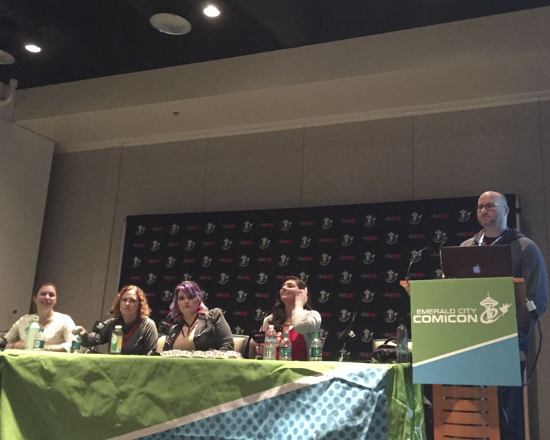 Emerald City Comicon 2017 - Marketing (Isn't) Magic panel