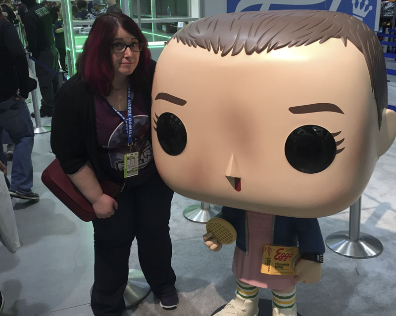 Emerald City Comicon 2017 - Wendy Buske with Eleven