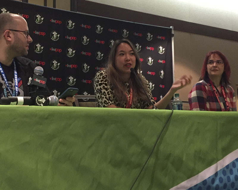 Emerald City Comicon 2017 - The Animated Life panel