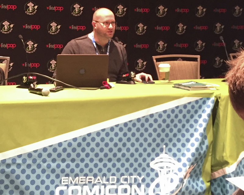 Emerald City Comicon 2017 - Adron Buske presents the Real Life Power Up seminar