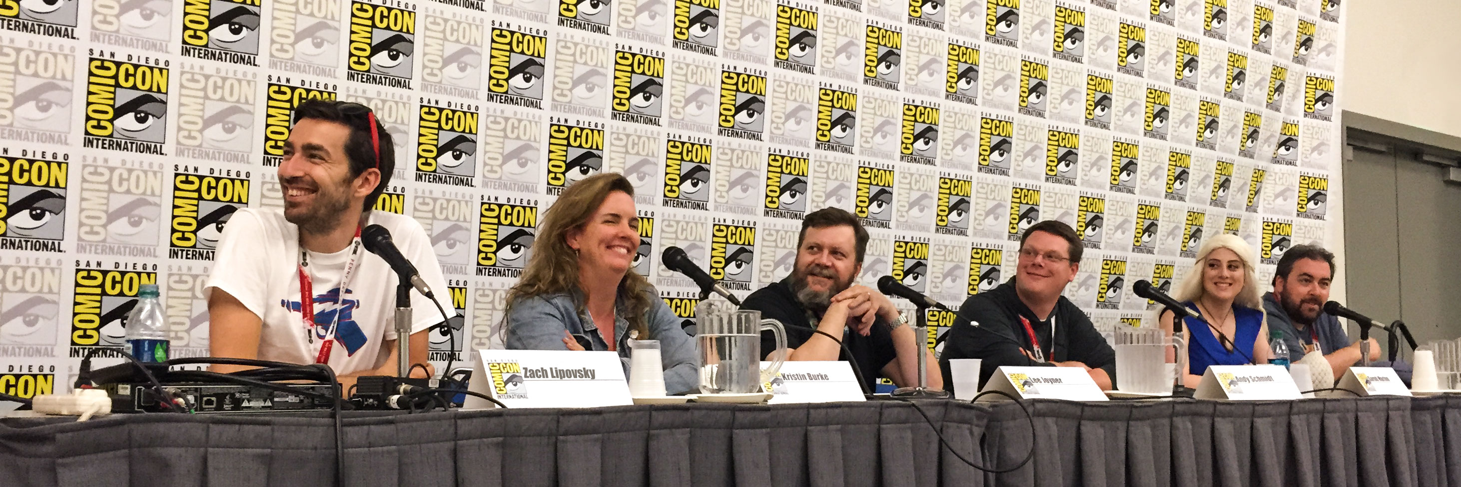 San Diego Comic Con Panel: How to be a Nerd for a Living