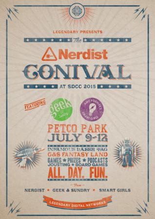 Nerdist CONival poster