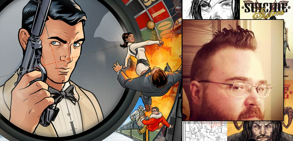 Kevin Mellon, storyboard artist for Archer
