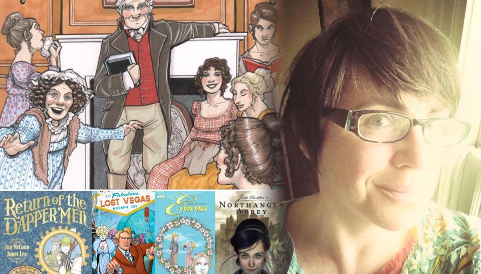 Janet Lee - Artist and Comic Creator