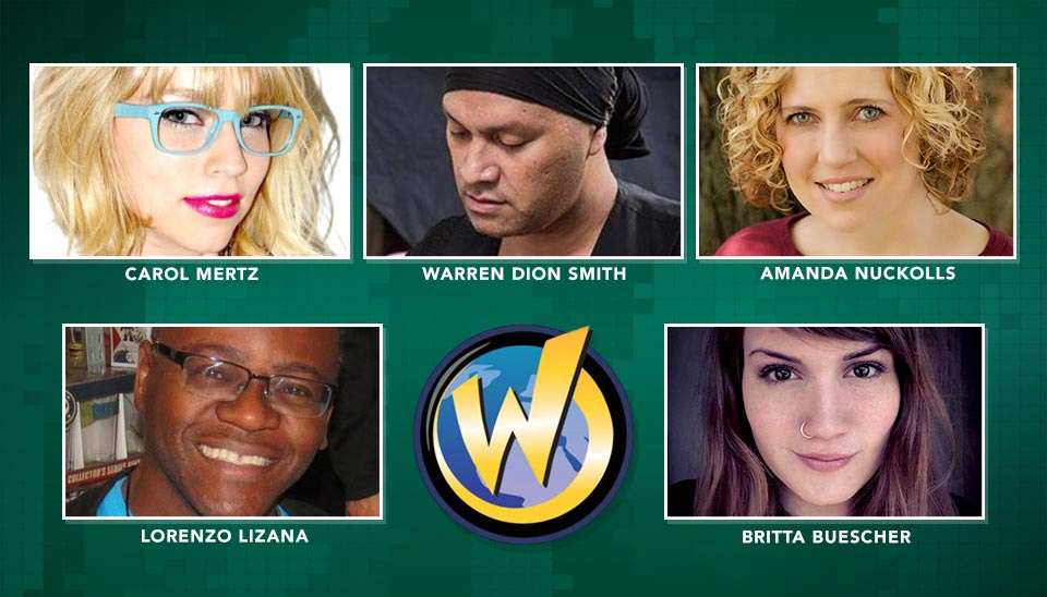Wizard World St. Louis - How to be a Nerd for a Living Panel