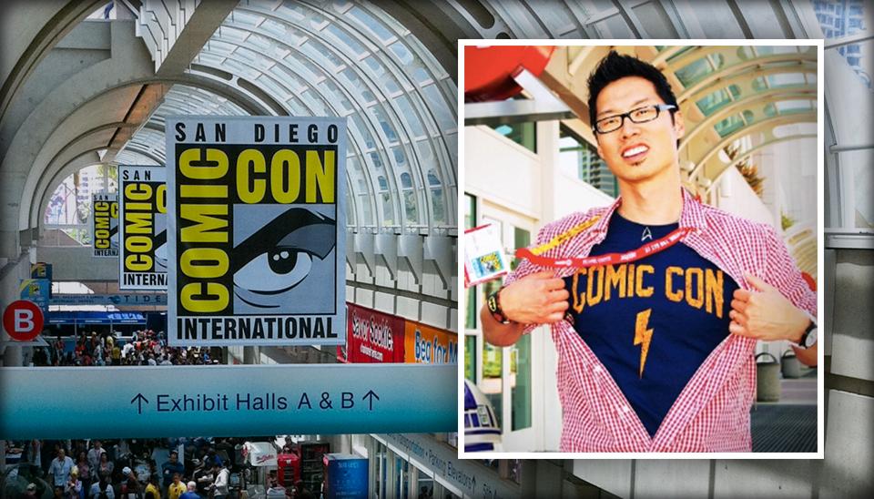San Diego Comic Con expert Tony B. Kim of Crazy4ComicCon