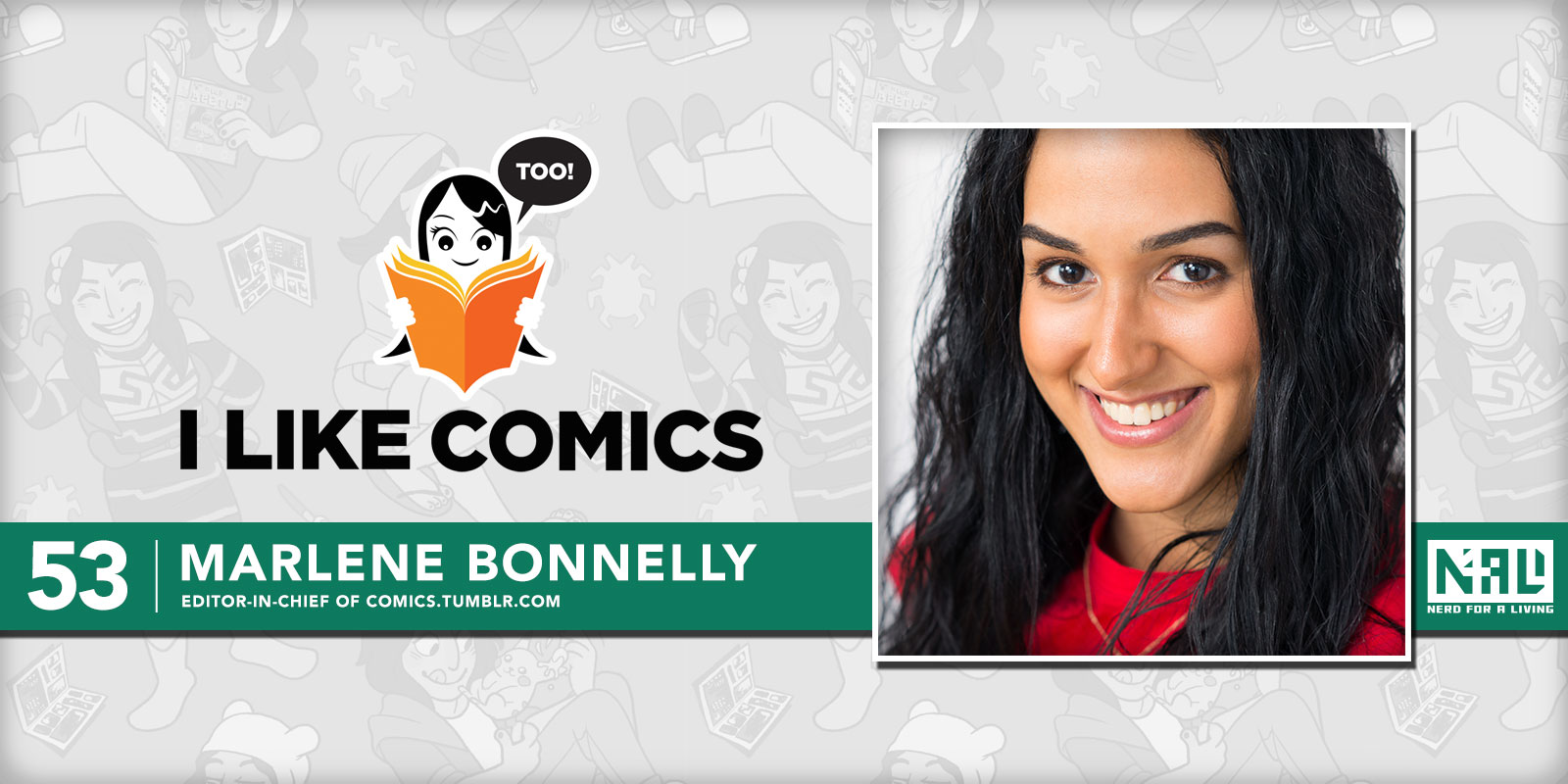 Marlene Bonnelly, Editor-in-Chief of Comics Tumblr com