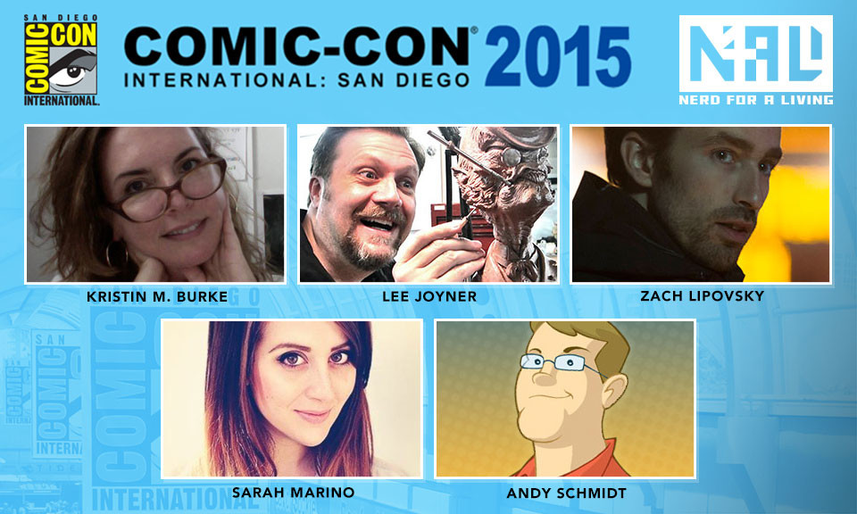 Nerd For a Living's San Diego Comic Con 2015 Panel