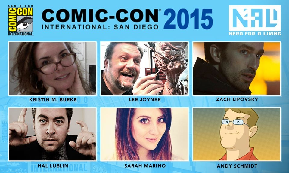 Nerd For a Living San Diego Comic Con 2015 Panel