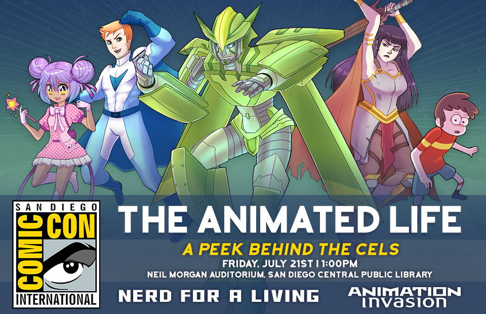 SDCC 2017: The Animated Life