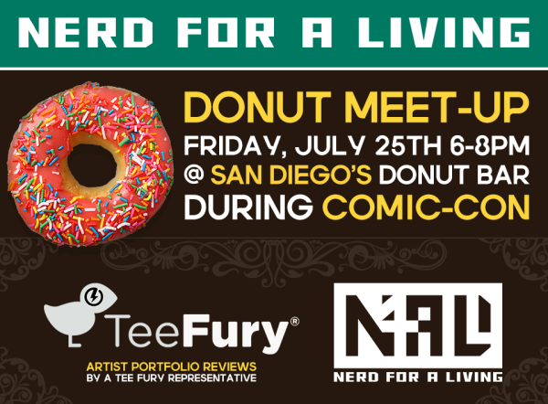 San Diego Comic-Con Donut Meet-Up and Portfolio Review