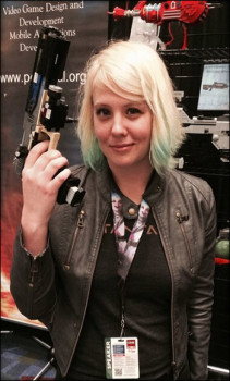 Abbie Heppe at C2E2 2014