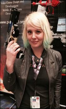 Abbie Heppe at C2E2 2014