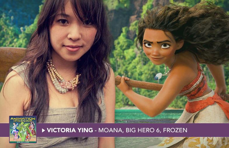 Victoria Ying - Illustrator, Moana, Big Hero 6, Frozen, Tangled, Wreck-It Ralph