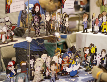 An Artist Alley Display from Wizard World Chicago