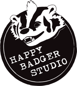 Happy Badger logo