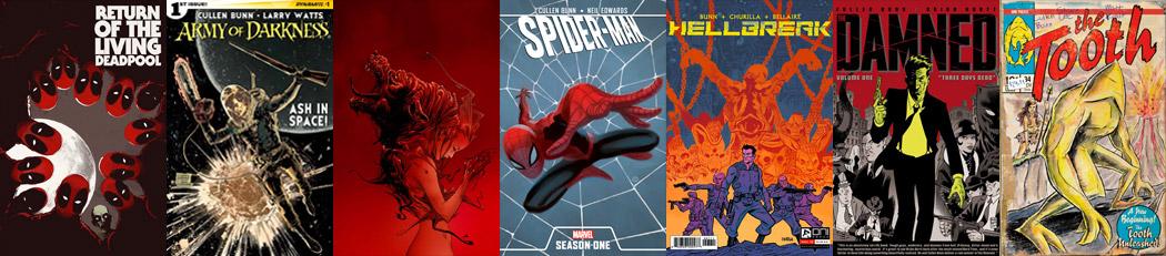 Cullen Bunn book covers