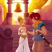 Chrono Trigger art by Sarah Marino