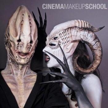 Work from Cinema Makeup School