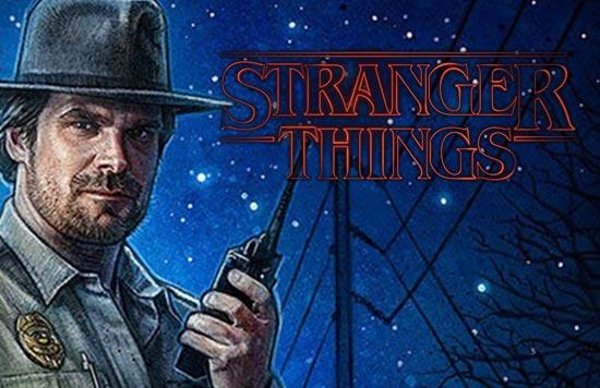 David Harbour from Stranger Things