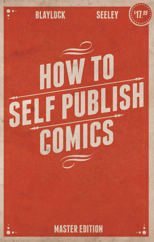 How to Self Publish Comics book cover