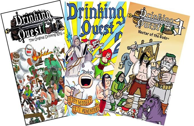 Drinking Quest Game Covers