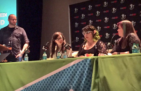 Marketing Isn't Magic Panel from Emerald City Comicon 2016