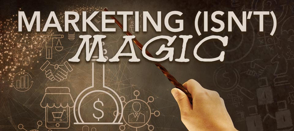 Marketing Isn't Magic panel
