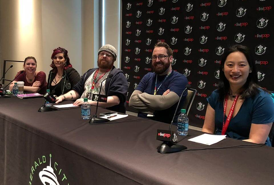 Emerald City Comic Con 2018: Nerd For A Living panel