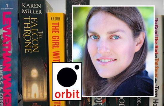 Ellen Wright, Senior Publicist for Orbit Books