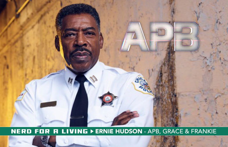 Ernie Hudson, actor - APB, Grace & Frankie, Ghostbusters, The Crow