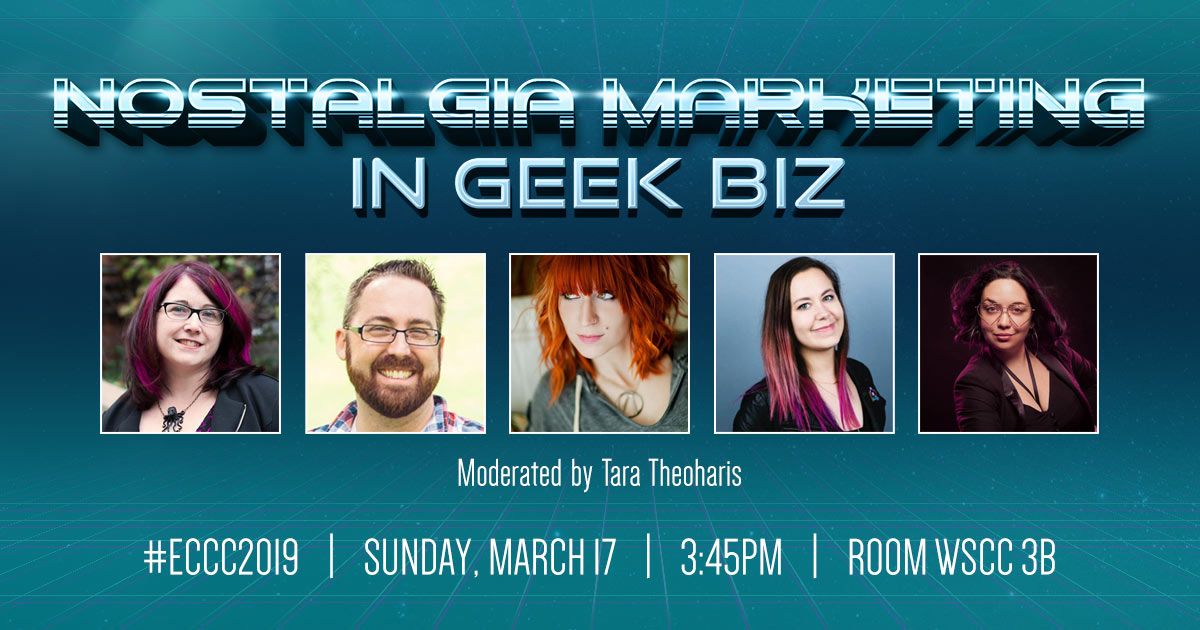 Nostalgia Marketing in Geek Biz – ECCC 2019