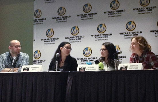 Wizard World St. Louis panelists