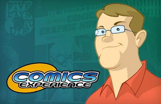 Andy Schmidt, Comics Experience